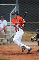 GCL Astros first baseman Connor MacDonald (68) at bat during a game against the GCL Braves on July 23, 2015 at the Osceola County Stadium Complex in Kissimmee, Florida.  GCL Braves defeated GCL Astros 4-2.  (Mike Janes/Four Seam Images)