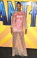 Florence Kasumba at the &quot;Black Panther&quot; European film premiere, Hammersmith Apollo (Eventim Apollo), Queen Caroline Street, London, England, UK, on Thu 08 February 2018.<br /> CAP/CAN<br /> &copy;CAN/Capital Pictures