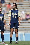 15 September 2013: Notre Dame's Katie Naughton. The University of North Carolina Tar Heels hosted the University of Notre Dame Fighting Irish at Fetzer Field in Chapel Hill, NC in a 2013 NCAA Division I Women's Soccer match. Notre Dame won the game 1-0.