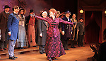 Stephanie J. Block, Chita Rivera & Company during the Broadway Opening Night Performance Curtain Call for 'The Mystery of Edwin Drood' at Studio 54 in New York City on 11/13/2012