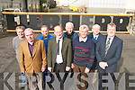 Tom Foley and Pat O'Leary with some of the staff from Liebherr who are retiring this year l-r: Mike Looney, Stephen McCarthy, Jackie Quirke, Tom Foley (H.R. manager), Fred Murphy, Jimmy O'Brien, Dermot Keane and Pat O'Leary (Director)   Copyright Kerry's Eye 2008