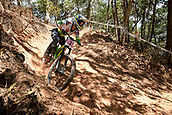 7th September 2017, Smithfield Forest, Cairns, Australia; UCI Mountain Bike World Championships;  Tracey Hannah (AUS) from POLYGON UR during downhill practice