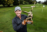 Kieran Muir wins the Barfoot and Thompson Charles Tour, Akarana Open, Akarana Golf Club, Auckland, Sunday 17  April 2016. Photo: Simon Watts/www.bwmedia.co.nz