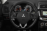 Car pictures of steering wheel view of a 2017 Mitsubishi ASX Instyle 5 Door SUV Steering Wheel