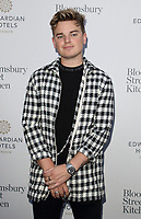 Jack Maynard at the Bloomsbury Street Kitchen Restaurant Launch Party in London on August 8th 2019<br /> CAP/ROS<br /> ©ROS/Capital Pictures