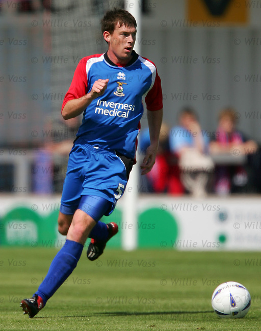 Stuart McCaffrey, Inverness Caley Thistle.stock season 2004-2005.pic willie vass