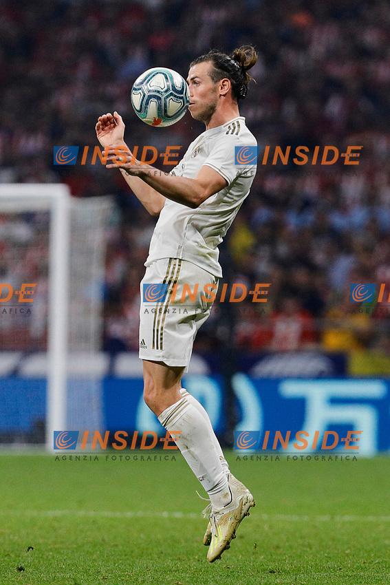 Gareth Bale of Real Madrid during La Liga match between Atletico de Madrid and Real Madrid at Wanda Metropolitano Stadium in Madrid, Spain. September 28, 2019. (ALTERPHOTOS/A. Perez Meca)<br /> Liga Spagna 2019/2020 <br /> Atletico Madrid - Real Madrid <br /> Foto Perez Meca Alterphotos / Insidefoto <br /> ITALY ONLY