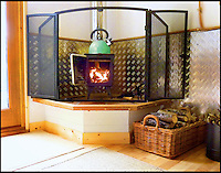 Bmth News (01202 558833)<br /> Pic QualityUnearthed/BNPS<br /> <br /> ****Must use full byline****<br /> <br /> Even boasts a woodburning stove.<br /> <br /> Would be Tarzan's are rushing to book up holiday's in a unique treehouse an enterprising farmer has constructed in his Devon wood.<br /> <br /> The plush &pound;200 a night treehouse might be 30ft above the ground but would be Janes will be delighted by all the mod cons including a double bed, a kitchen, a shower and a woodburning stove.<br /> <br /> And the secluded bolthole is one of only a handful of treehouses in the country which can be rented and slept in overnight.<br /> <br /> The treehouse, near Honiton in Devon, is called the Acorn Treehouse because it is nestled within the branches of an oak tree.<br /> <br /> It is rented out through letting agency Quality Unearthed for &pound;196 a night.