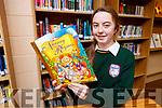 Natasha Myers Killorglin Community College whose project for the Young Scientist of the Year competition is 'Are Nursery Rhymes appropriate for the 21st Century'.