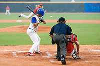 20 August 2007: #5 Kenji Hagiwara is seen at bat during the Czech Republic 6-1 victory over France in the Good Luck Beijing International baseball tournament (olympic test event) at the Wukesong Baseball Field in Beijing, China.