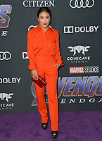 "LOS ANGELES, USA. April 22, 2019: Ally Maki at the world premiere of Marvel Studios' ""Avengers: Endgame"".<br /> Picture: Paul Smith/Featureflash"