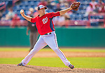 9 March 2013: Washington Nationals pitcher Jeremy Accardo on the mound during a Spring Training game against the Miami Marlins at Space Coast Stadium in Viera, Florida. The Nationals edged out the Marlins 8-7 in Grapefruit League play. Mandatory Credit: Ed Wolfstein Photo *** RAW (NEF) Image File Available ***