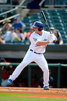 Chattanooga Lookouts outfielder Bobby Coyle #27 during a game against the Birmingham Barons on April 17, 2013 at AT&T Field in Chattanooga, Tennessee.  Chattanooga defeated Birmingham 5-4.  (Mike Janes/Four Seam Images)