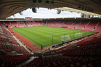 Interior view of the Stadium during the Premier League match between Southampton and Swansea City at the St Mary's Stadium, Southampton, England, UK. Saturday 12 August 2017