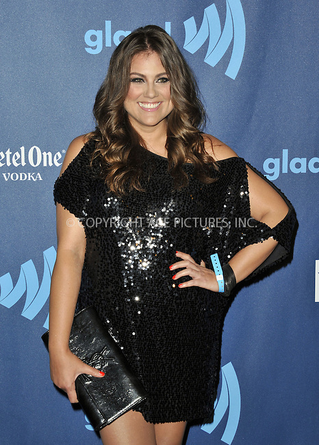 WWW.ACEPIXS.COM......April 20, 2013, Los Angeles, CA.....Rachel Shelley arriving at the 24th Annual GLAAD Media Awards held at the JW Marriott Los Angeles at L.A. LIVE on April 20, 2013 in Los Angeles, California. ..........By Line: Peter West/ACE Pictures....ACE Pictures, Inc..Tel: 646 769 0430..Email: info@acepixs.com
