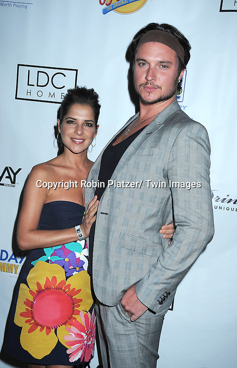 Kelly Monaco and Heath Freeman at the Sway Gift Lounge for the Daytime Emmy Awards on June 26, 2010 at The Hilton in Las Vegas