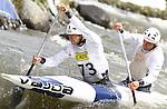 2011 European Senior Canoe Slalom Championships. Saturday C2 semi-finals