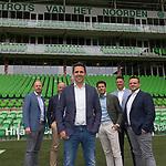 Seizoen 2019 - 2020, MT, Managment, *Edwin Froma* of FC Groningen, Marc-Jan OldenbandringhManager financiële zaken of FC Groningen,  Director *Wouter Gudde* of FC Groningen, Manager technische zaken *Mark-Jan Fledderus* of FC Groningen, *Robbert Klaver*, Commercieel directeur of FC Groningen, *Jepko van Roon* Manager operationele zaken of FC Groningen,