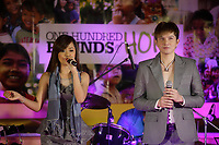 October 13, 2012 - Ottawa, Ontario , Canada - EXCLUSIVE PHOTO :  Cambodian celebrity singers Aok Sokunkanha (Female) and Alex Chandra (Male ) in Ottawa for 100 Pounds of Hope fundraiser organised by Sandap C Productions.<br /> <br /> One Hundred Pounds of Hope is 501(c) 3 non-profit founded by Amanda Prak, a  survivor of the  Khmer Rouge genocide.