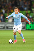 3rd November 2017, Melbourne Rectangular Stadium, Melbourne, Australia; A-League football, Melbourne City FC versus Sydney FC; Marcin Budzi_ski of Melbourne City FC takes control of the ball