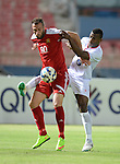 Kuwait SC vs Al Jaish during the 2015 AFC Cup 2015 Group D match on April 15, 2015 at the Kuwait S.C. Stadium in Kuwait City, Kuwait. Photo by Adnan Hajj / World Sport Group