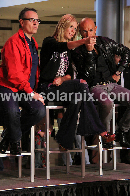 "**ALL ROUND PICTURES FROM SOLARPIX.COM**.**SYNDICATION RIGHTS FOR UK, AUSTRALIA, DENMARK, PORTUGAL, S. AFRICA, SPAIN & DUBAI (U.A.E) ONLY**.Heidi Klum tapes ""Germany's Next Top Model"" at the Fashion Show Mall in Las Vegas, Nevada, USA. January 24, 2009..This pic: Rolf Scheider, Heidi Klum and Peyman Amin..JOB REF: 8317 PHZ (PRN)   DATE: 24_01_2009.**MUST CREDIT SOLARPIX.COM OR DOUBLE FEE WILL BE CHARGED* *UNDER NO CIRCUMSTANCES IS THIS IMAGE TO BE REPRODUCED FOR ANY ONLINE EDITION WITHOUT PRIOR PERMISSION*"