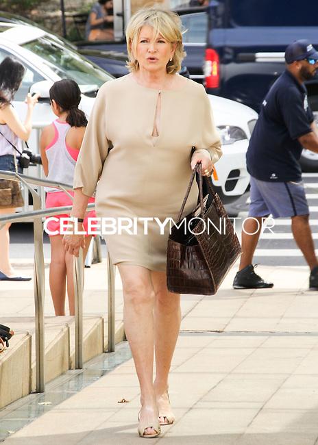 NEW YORK CITY, NY, USA - SEPTEMBER 03: Martha Stewart arrives at the 8th Annual Fashion Award Honoring Carolina Herrera held at the David H. Koch Theater at Lincoln Center on September 3, 2014 in New York City, New York, United States. (Photo by Jeffery Duran/Celebrity Monitor)