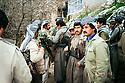 Iraq 1987 .Kosrat Rassul and his peshmergas in the mountains.Irak 1987.Kosrat Rassul et ses peshmergas dans la montagne