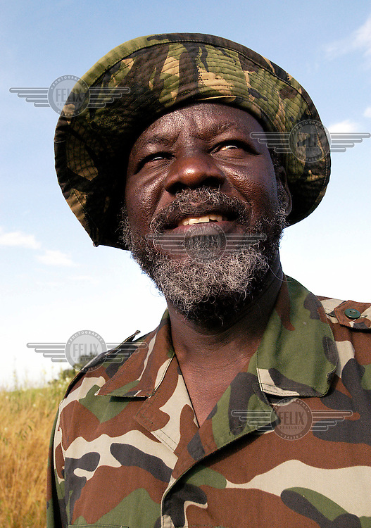 Dr. Lam Akol, representative of the Shilluk people within the SPLA (Sudanese People's Liberation Army). In recent months villages along the river Nile in Shilluk Kingdom in the south of Sudan have been attacked by militias backed by the government. They provided weapons and logistics to local militias in order to have local people chased away, their villages burned and cattle stolen. With the world's attention on the war in the west of the country, the atrocities in the south have gone largely unnoticed. But they illustrate the gap between the positive impression given at the north-south peace talks and the reality on the ground.
