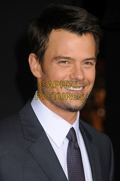 Josh Duhamel  .'New Year's Eve' Los Angeles premiere at  Grauman's Chinese Theatre, Hollywood, California, USA..5th December 2011.headshot portrait white shirt black tie  stubble facial hair  .CAP/ADM/BP.©Byron Purvis/AdMedia/Capital Pictures.
