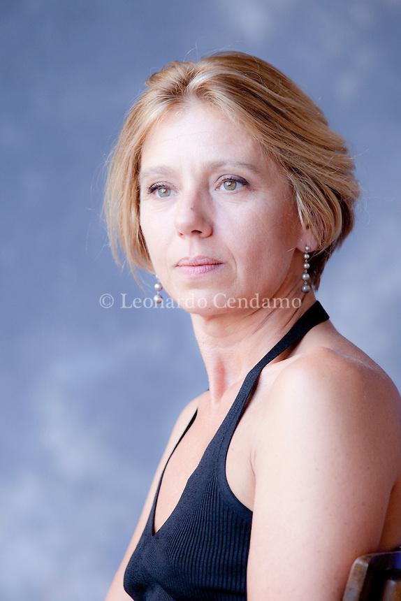 Concita De Gregorio (Pisa, 19 novembre 1963) è una giornalista e scrittrice italiana. Firma de la Repubblica, è stata direttrice de l'Unità dal 2008 al 2011. Mantova, settembre 2012. © Leonardo Cendamo.