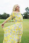 Sunday Mail , Fashion with Mirella Golf Fashion at Kooyonga Golf Club, Model Kerri-Anne Kennerley .  Photo: Nick Clayton