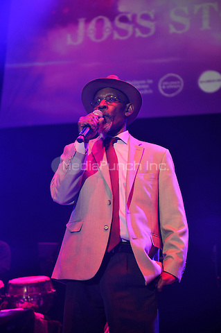 LONDON, ENGLAND - MAY 15: Linton Kwesi Johnson performing at Camden Roundhouse on May 15, 2016 in London, England.<br /> CAP/MAR<br /> &copy;MAR/Capital Pictures /MediaPunch ***NORTH AMERICA AND SOUTH AMERICA ONLY***