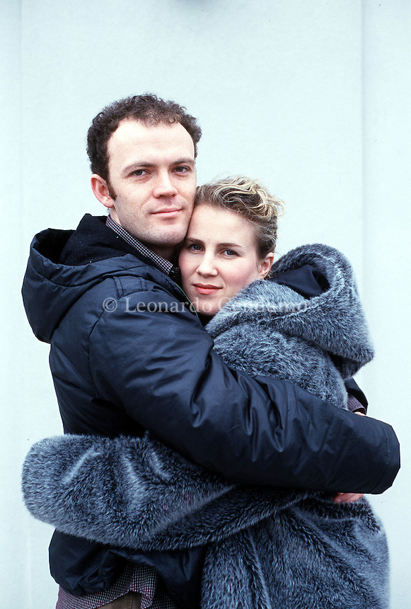 2000: EMLYN REES AND JOSIE LLOYD WRITERS © Leonardo Cendamo