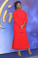Clara Amfo at the Aladdin European Gala Screening at the Odeon Luxe Leicester Square, London on May 9th 2019<br /> CAP/ROS<br /> ©ROS/Capital Pictures