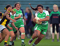 Action from the Farah Palmer Cup women's rugby match between Manawatu Cyclones and Wellington Pride at CET Stadium in Palmerston North, New Zealand on Saturday, 12 October 2019. Photo: Dave Lintott / lintottphoto.co.nz