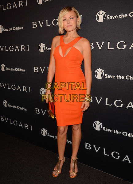 17 February 2015 - Beverly Hills, Ca - Malin Akerman. BVLGARI and Save the Children launches Stop.Think.Give., a collection of celebrity portraits photographed by Fabrizio Ferri held at Spago. <br /> CAP/ADM/BT<br /> &copy;BT/ADM/Capital Pictures