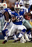 8 October 2007: Buffalo Bills running back Marshawn Lynch in action against the Dallas Cowboys at Ralph Wilson Stadium in Buffalo, New York. The Cowboys defeated the Bills 25-24 winning their fifth consecutive game of the season...Mandatory Photo Credit: Ed Wolfstein Photo