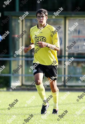 2009-08-14 / Voetbal / seizoen 2009-2010 / KFC Lille / Jonas Storms..Foto: mpics