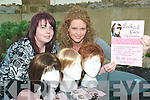 Hair care: Sinead Sheehy with Caroline Horgan of Locks of Care by Caroline, a new Duagh business that provides a one-to-one private wig and hair piece service for chemotherapy patients in Munster.