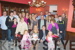 BAPTISED: Chris and Madeline Foley Camp who had their baby Lauren christened on Sunday and afterward invited the family and friends back to the Imperial Hotel, Tralee for refreshments..