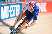 Picture by Alex Whitehead/SWpix.com - 11/10/2017 - British Cycling - Great Britain Cycling Team Sprint Practice Session - HSBC UK National Cycling Centre, Manchester, England - Joe Truman.