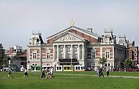 Nederland - Amsterdam - 2018.  Het Concertgebouw aan het Museumplein.   Foto Berlinda van Dam / Hollandse Hoogte.