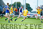 Conor Cox Kerry in action against Adam Lynch Meath in the All Ireland Junior Football Final at O'Moore Park, Portlaoise on Saturday.