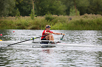 Race: 104  W.1x (Band 2)  Rep 1<br /> <br /> Peterborough Summer Regatta 2018 - Sunday<br /> <br /> To purchase this photo, or to see pricing information for Prints and Downloads, click the blue 'Add to Cart' button at the top-right of the page.