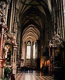 AUSTRIA, Vienna, interior of St. Stephen's cathedral, also called Stephansdom