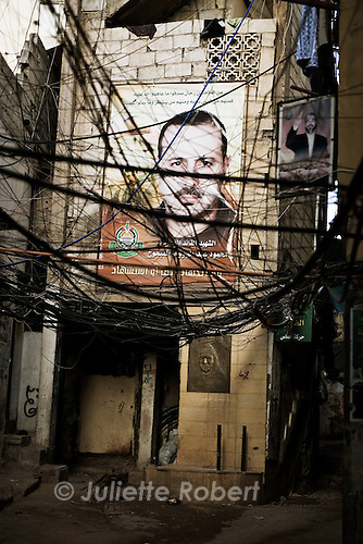In the palestinian camp of Burj el Barajneh, south of Beirut, Lebanon<br /> <br /> Dans les ruelles du camp palestinien de Burj el Barajneh, au sud de Beyrouth