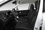 Front seat view of a 2018 Chevrolet Trax LT 5 Door SUV front seat car photos