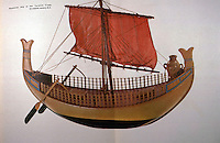 World Civilization:  Ancient Ships--Phoenicean Ship of the Tarshish Trade, 13th C.  B.C.  The enormous vase is not explained.