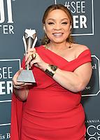 12 January 2020 - Santa Monica, California - Ruth E. Carter. 25th Annual Critici's Choice Awards - Press Room held at Barker Hangar. Photo Credit: Birdie Thompson/AdMedia